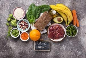 Foods rich in folic acid