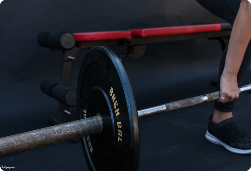 Weightlifting Barbell
